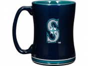 Seattle Mariners Coffee Mug - 410ml Sculpted Relief