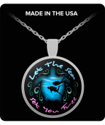 girlfriend gifts - Let The Sea Set You Free - Necklace