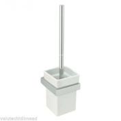 Sagittarius Rimini Toilet Brush Holder - Chrome/white