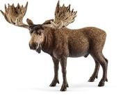 "Wild Life 37540cm schleich Moose Bull"" Figure"