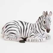 Bits And Pieces Garden Décor - Zoey The Zebra Sculpture - Perfect For Your Lawn