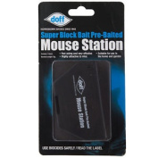 Doff Pre-baited Mouse Trap Station - Rodent & Pest Control - Garden Care - 15g