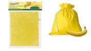 Banana Storage Bag W/ Drawstring Fresher For Longer Reduces Food Waste 36cm X 25cm