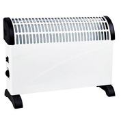Electrical 2 Kw Convector Heater - Wall Mounted Or Free Standing White