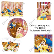 Official Beauty And The Beast Party Plates, Cups, Napkins, Tablecover, Loot New