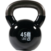 GoFit Premium Vinyl Dipped Kettle Bell With Introductory Training Dvd