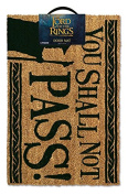 """The Lord of the Rings """"You Shall Not Pass"""" Doormat, Multi-Colour"""