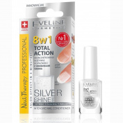 Eveline Cosmetics 8 in 1 intensive nail conditioner Silver Shine