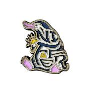 Enamelled Niffler Pin Badge