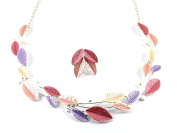 Gifts for Women Presents for Women Murano Passion Jewellery Sets - Necklace & Earring Set in Summer Colours - Includes Gift Box