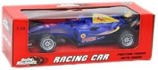 Racing Machines Plastic Pull Back Friction F1 Racing Car With Sound 1:18 ~ Blue