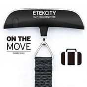 Etekcity Upgraded Version El11 50kg Electronic Digital Luggage Scale For Bags, &