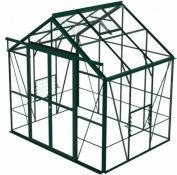 Hercules Blenheim Greenhouse 8ft5 X 6ft6 Green With Toughened Glass