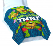 Nickelodeon Teenage Mutant Ninja Turtles 'Cityscape' Twin Blanket, 160cm x 230cm