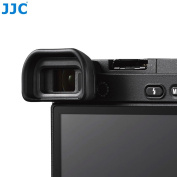 JJC Rubber Eyepiece Cup for Sony Alpha A6500 (ILCE-6500) Camera, Replaces Sony FDA-EP17 Eyecup