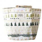 Insulated Lunch Bags for Women Baby Kid Food Bag Oxford Bento Lunch Cooler Tree Flowers