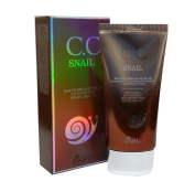 eKeL Snail Cc Cream Spf50+ Pa +++ 50Ml / Whitening,Anti-Wrinkle,Uv Protection / Korean Cosmetics