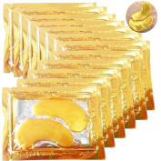 10 x Premium Collagen Gold Eye Masks