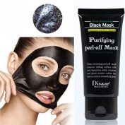 Beauty Top Black Mud Deep Cleansing Purifying Peel Off Facail Face Mask Remove Blackhead Facial Mask Feature: