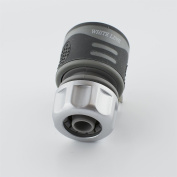 Hozelock Compatible- Quick Hose Connector For Garden Hose Pipe Water- Soft Touch