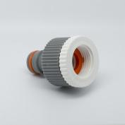 Hozelock Compatible- 1.9cm & 1.3cm Tap Connector- Female Thread Garden Pipe - W-line