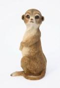 Baby Meercat Garden Ornament. 20cm Tall