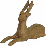 Decopatch Mache Sitting Reindeer Brown Home Household Supplies Decopatch Is A N