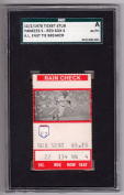 1978 Boston Red Sox & NY Yankees One Game Playoff Ticket Stub Bucky Dent SGC