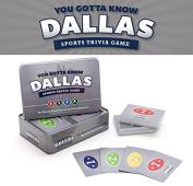 You Gotta Know Dallas - Sports Trivia Game