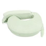 Baby Breast Feeding Support Memory Foam Pillow w/ Zip Cover Green