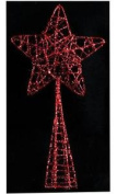28cm High Red Christmas Tree Topper Decoration Xmas Accessory