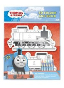 3d Colour And Build Your Own Thomas The Tank Engine Craft Toy Activity Set