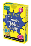Brainbox Snap And Pairs - My First Times Tables Card Game Matching Numbers Educ