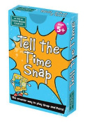 Brainbox Snap And Pairs - Tell The Time Card Game Matching Numbers Educational