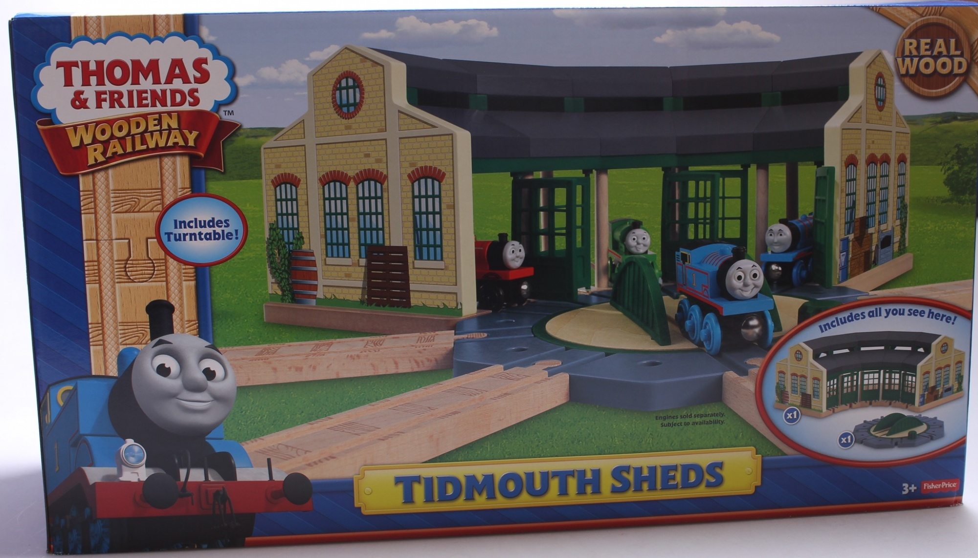 Fabulous Thomas Friends Wooden Railway Tidmouth Sheds Home Remodeling Inspirations Genioncuboardxyz
