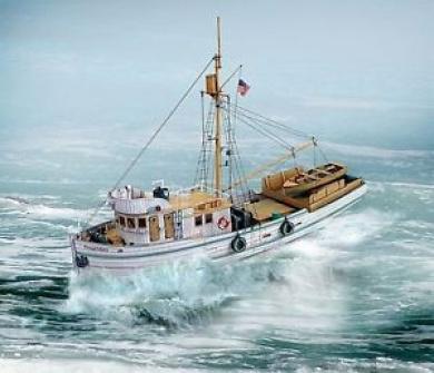 "Aue-verlag 40 X 11 X 39 Cm ""proud Mary Tuna Fish Trawler"" Model Kit"