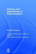 Intimacy and Separateness in Psychoanalysis