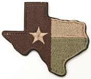 WZT Texas State Flag Patch Morale Patch-hook and loop patch