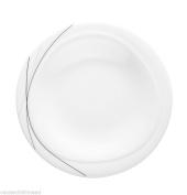 Seltmann Weiden Trio Highline Bread Plate In Grey - 20cm Dia