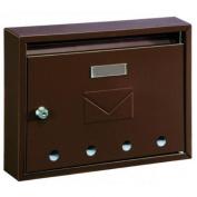Home Design Hdm-910 Classic Designer Steel Key Lock Mailboxes