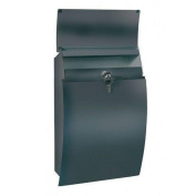 Home Design Hdm-810 Large Contemporary Steel Post Boxes