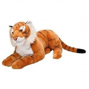 "Wild Republic 19547 76cm ""ck Jumbo Tiger"" Plush Toy - Tiger Soft Cuddlekins 30"