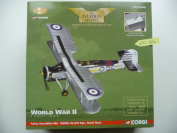 New Corgi Aa36302 - Fairey Swordfish Mki - W5856, No.810 Sqn, Hms Ark Royal 1939