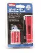 Hilka 82020920 90 Led 1 W 60 Lm Aluminium Mini Torch