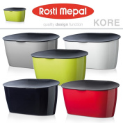 Rosti Mepal Kore Bread Loaf Bin Box In Grey, Black, Green, Red Or White
