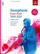Saxophone Exam Pack 2018-2021, ABRSM Grade 5