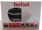 Tefal Rk1568uk Cooltouch Rice Cooker, Steam Basket, Glass Lid And Removable Bowl