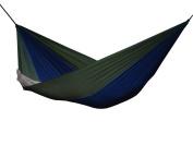 Vivere Par21 Nylon Double Parachute Hammock - Navy/olive