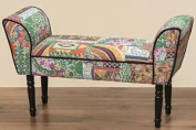 """Padded Seater Bench """"tracy"""" Polyester"""