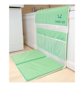 Nooni Care Baby Bath Time Kneeler Kneeling Pad With Elbow Rest Cushion, Mint